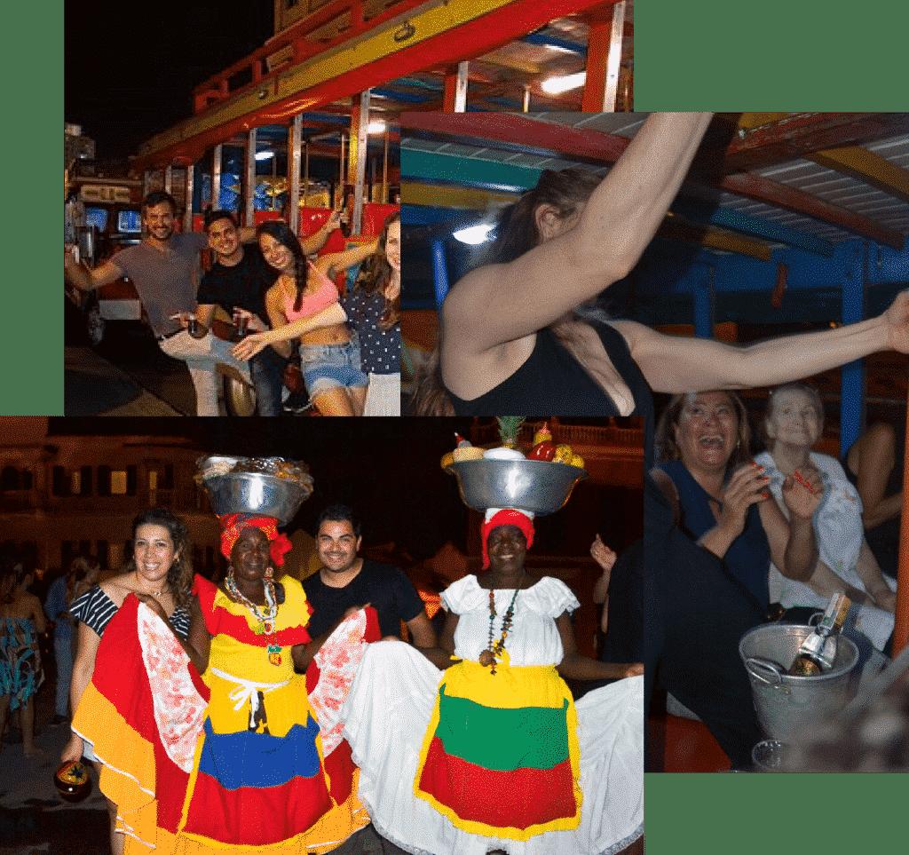 Chiva rumbera Cartagena